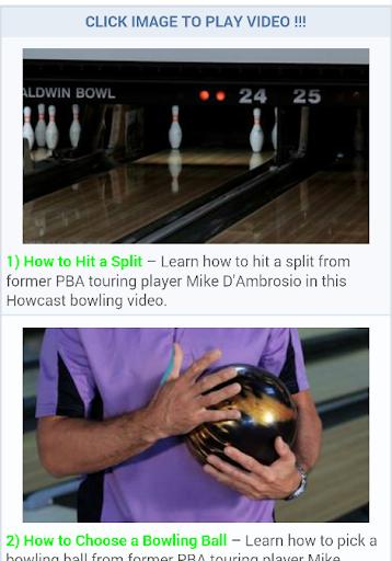 Free Bowling Lessons