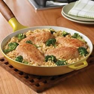 Campbell'S® Quick and Easy Chicken, Broccoli and Brown Rice Dinner Recipe