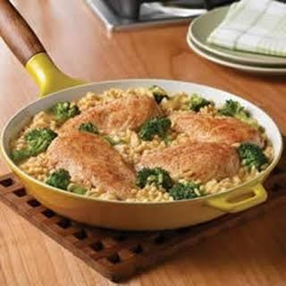 Campbell's® Quick and Easy Chicken, Broccoli and Brown Rice Dinner.