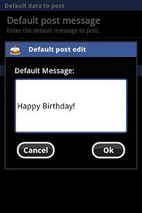 Birthday Scheduler for Fb Lite - screenshot thumbnail