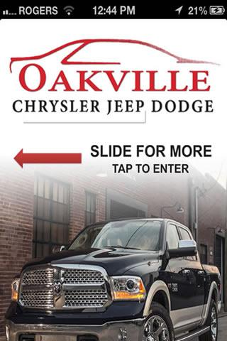 Oakville Dodge Chrysler Ltd. - screenshot
