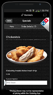 Domino's Pizza Belgium- screenshot thumbnail