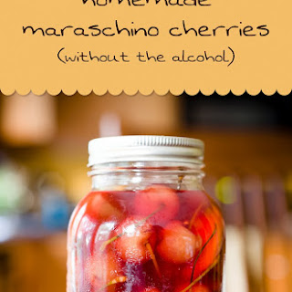 """Homemade """"Maraschino"""" Cherries (This Time Without Alcohol)."""