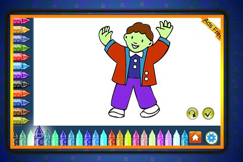 Coloring Book Dancing 1.7.0 screenshots 2
