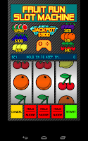 Screenshot of Fruit Run FREE Slot Machine
