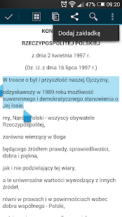 Polskie Ustawy (Kodeksy) - náhled