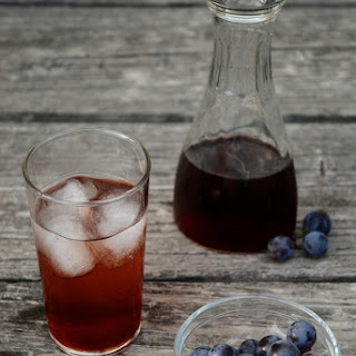Concord Grape Balsamic Shrub