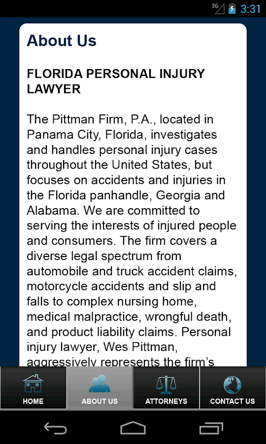 iCrashed by Pittman Law- screenshot