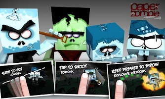 Screenshot of Paper Zombie