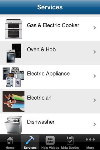 Appliance Repairs- screenshot
