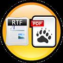 RTF to PDF Converter icon