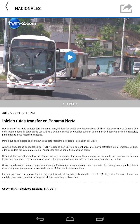 TVN Noticias - Premium- screenshot