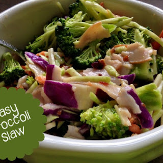 Easy Broccoli Slaw Recipe