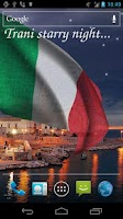 Screenshot of 3D Italy Flag Live Wallpaper +
