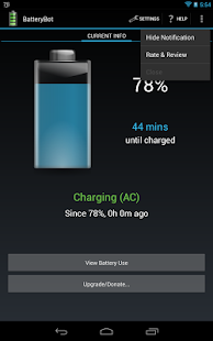 BatteryBot Battery Indicator Screenshot 27