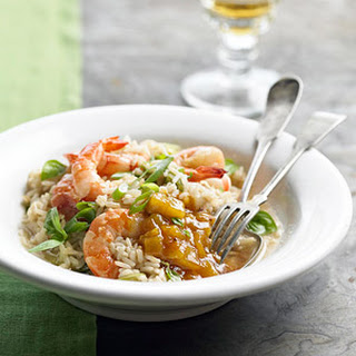 Ginger Shrimp and Rice