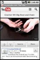 Screenshot of Crochet 101