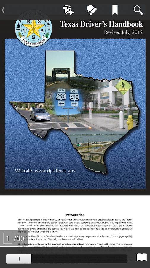 Texas driver license test android apps on google play texas driver license test screenshot sciox Choice Image