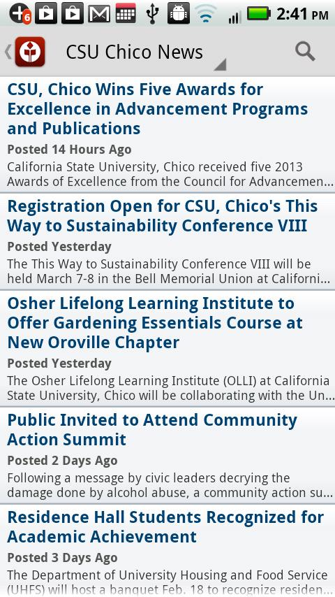 Chico State - screenshot