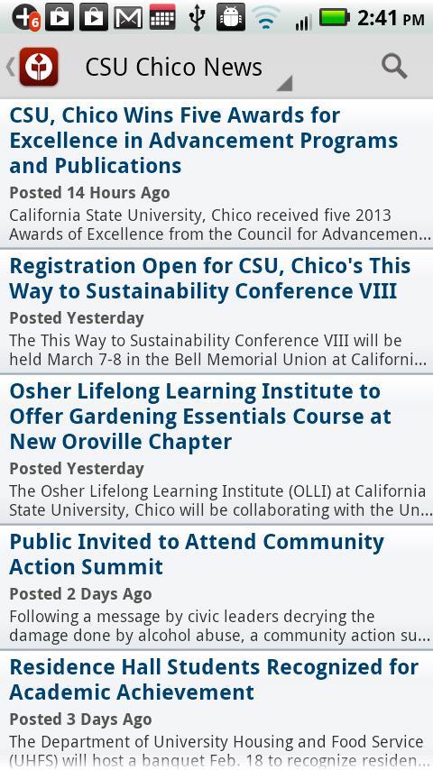 Chico State - screenshot