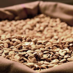Seeds by Rodolfo Dela Cruz - Food & Drink Eating ( food, eating, seeds, dof, snack )