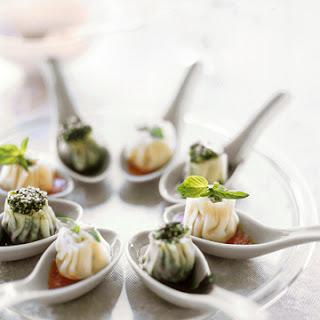 Steamed Ricotta Dumplings.
