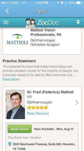 【免費健康App】Fred Mattioli, MD-APP點子