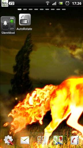 火馬のライブ壁紙