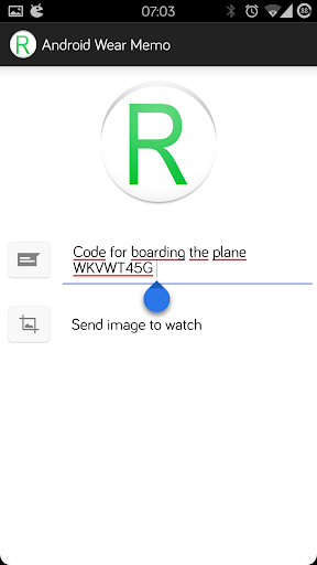 Reminder for Android Wear