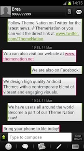 GO SMS Theme - Theme Nation - screenshot thumbnail