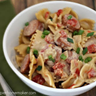 Spicy Sausage Penne.