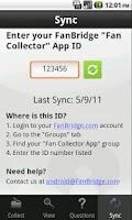 Screenshot of FanBridge Fan Collector