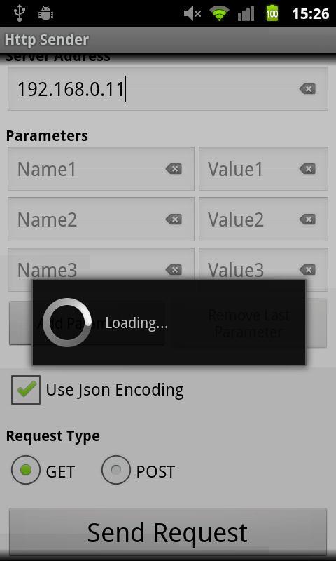 Http Sender- screenshot