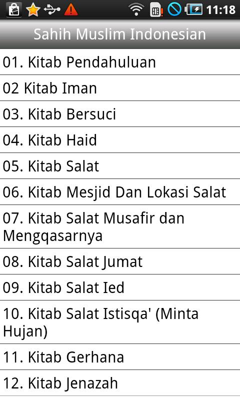 Sahih Muslim(Hadith) Indonesia - screenshot