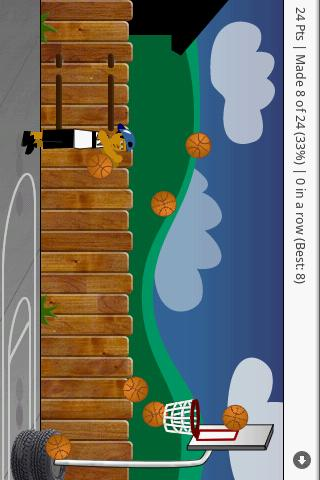 Driveway Basketball Game FREE - screenshot