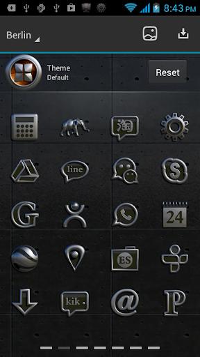 【免費個人化App】Next Launcher Theme Berlin-APP點子