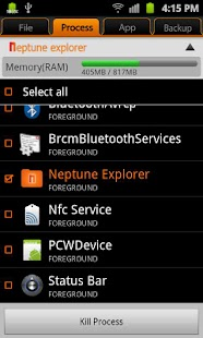 Neptune file explorer- screenshot thumbnail