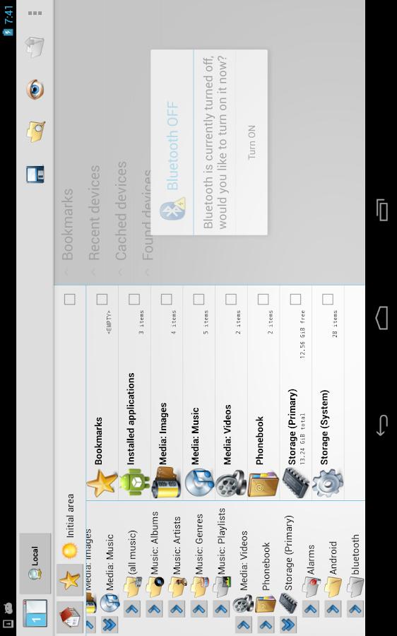 CASTLE File Manager - screenshot
