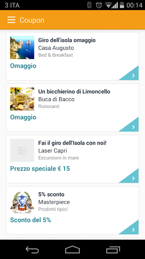 Capri Insider- screenshot