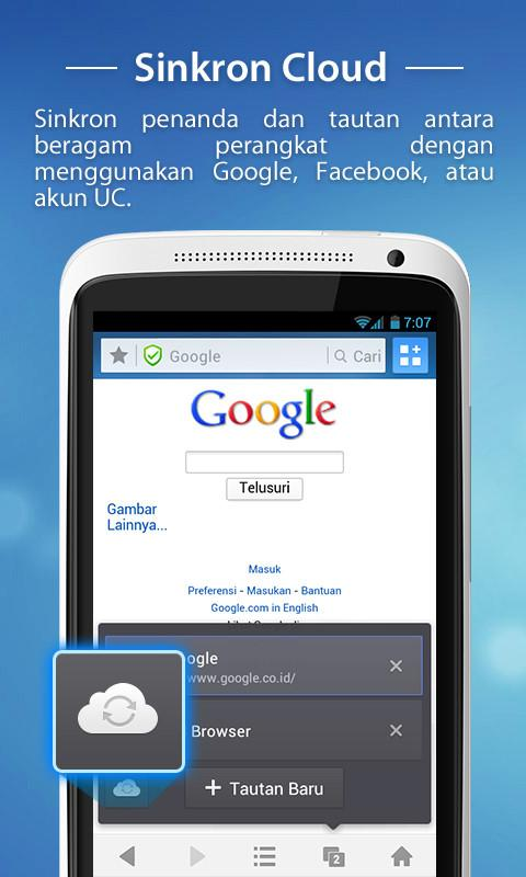 UC Browser - screenshot