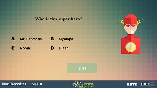 玩益智App|超级英雄问答游戏免費|APP試玩