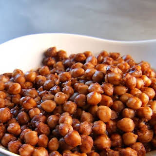 Spicy Indian Chickpeas.