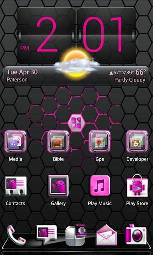 Pink Blend Next launcher