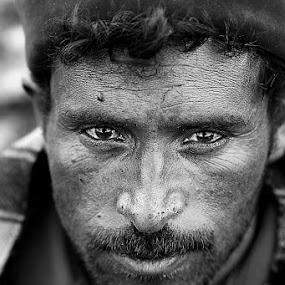 County Boy by Vinod Chauhan - People Portraits of Men ( village, boy, rural, portrait, man )