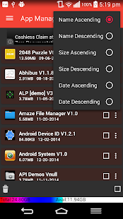 App2sd card-appmgr3 - screenshot thumbnail