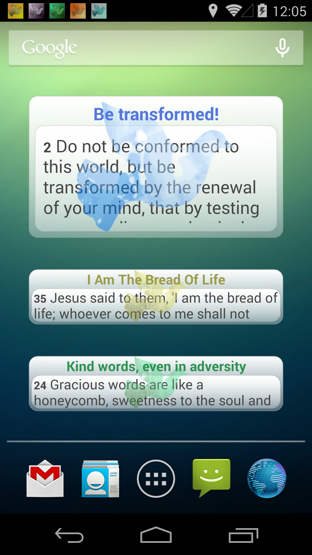 Words of Apostles Daily screenshot #2