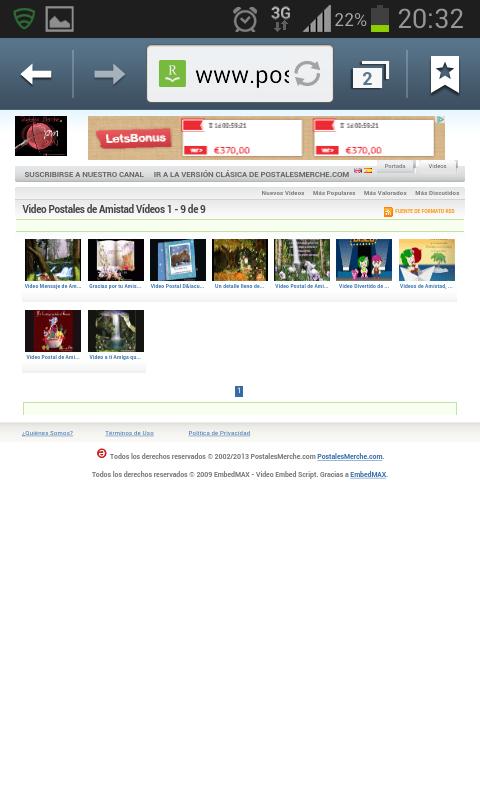 PostalVirtual, Postales Gratis- screenshot