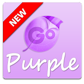 Purple GO Keyboard Theme