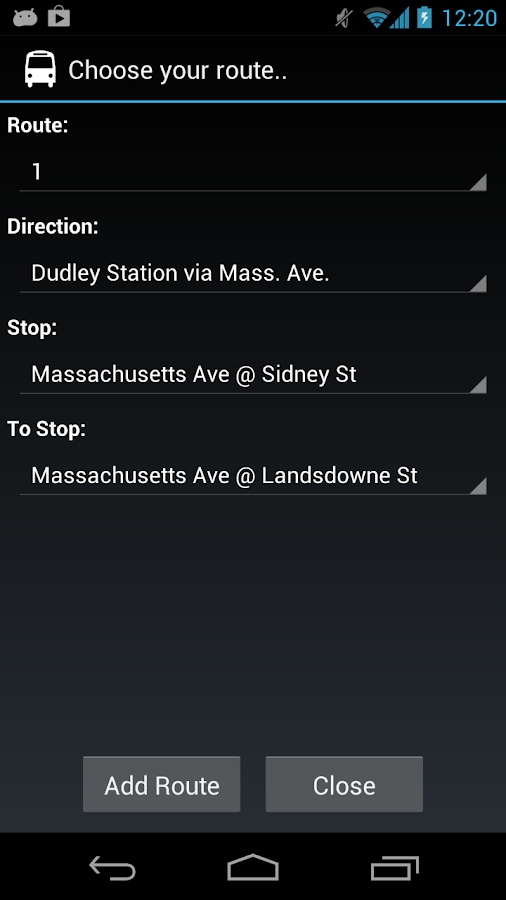 MBTA - Catch me (live alerts) - screenshot