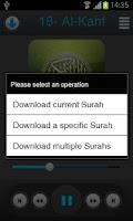 Screenshot of Holy Quran - Minshawi Tajweed
